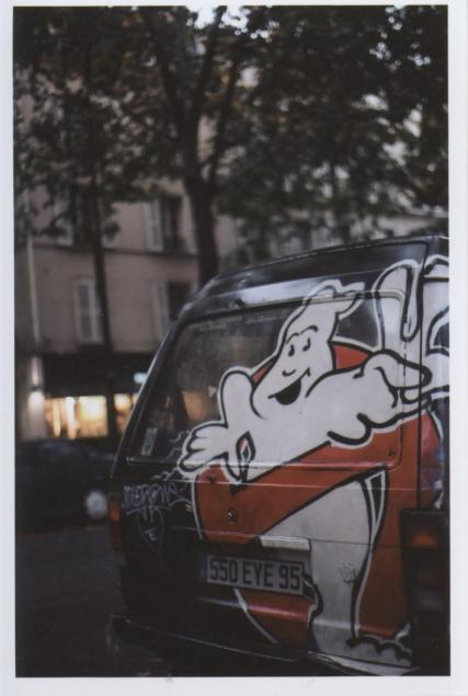 -GHOSTBUSTER VAN - LONDON, ENGLAND35mm COLOR FILM