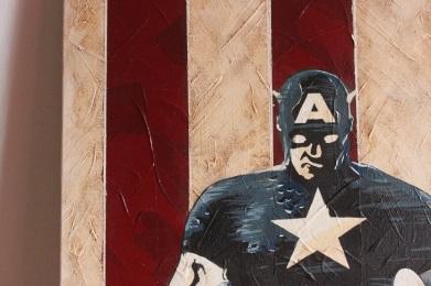 captain america - paul rossi painting 12
