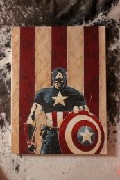 - THE CAP - acryclic on canvas 24x36