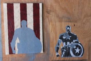 captain america - paul rossi painting 6