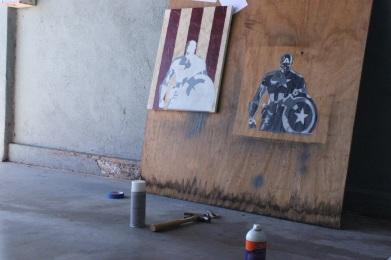 captain america - paul rossi painting 9