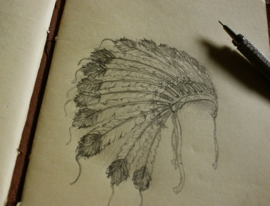 native sketch bonnet 2